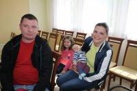 Spotkanie Burmistrza Bisztynka znowonarodzonymi mieszkańcami iich rodzinami