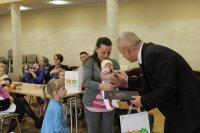 Burmistrz Bisztynka powitał nowonarodzonych mieszkańców Gminy iMiasta